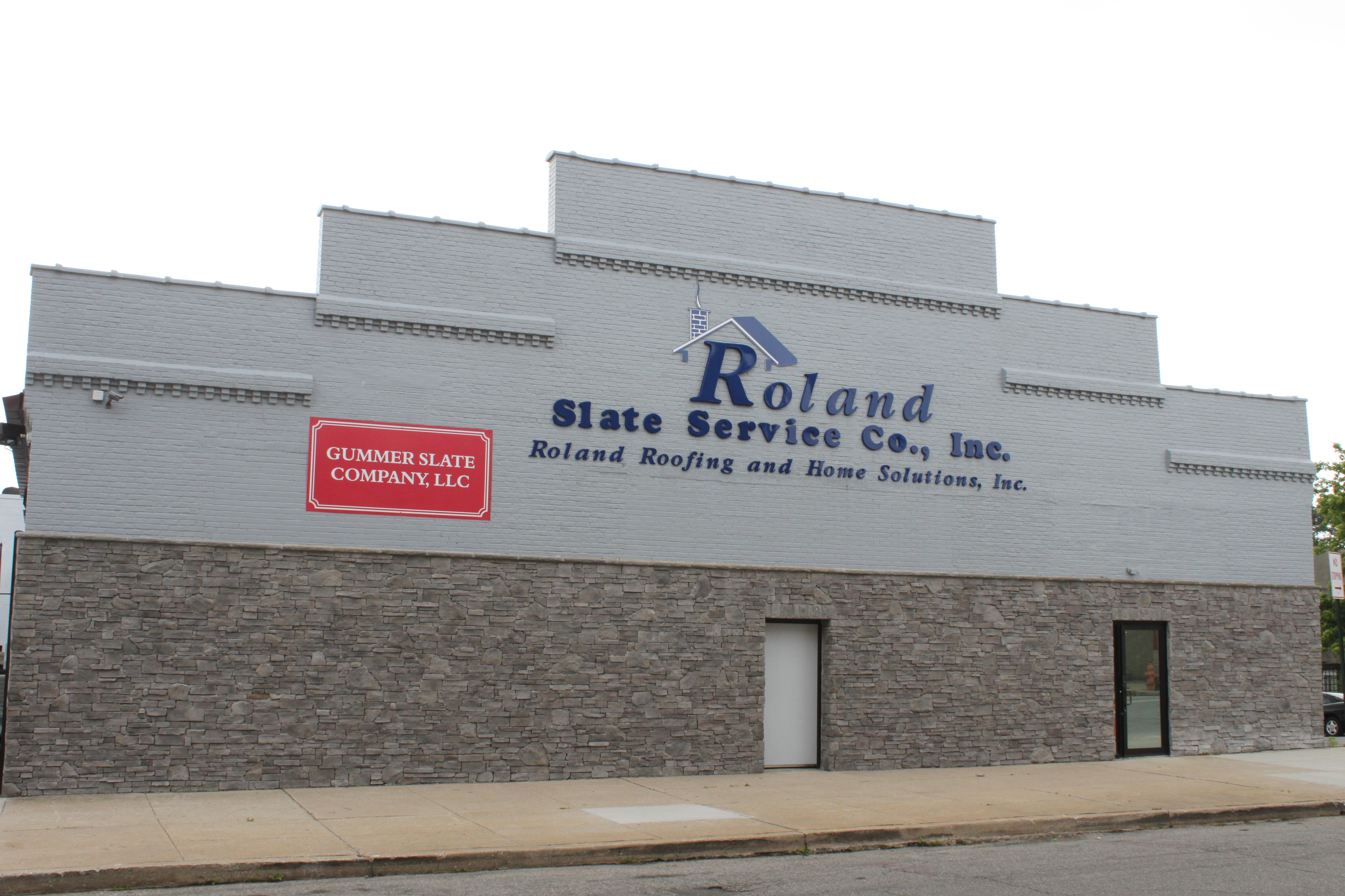 Roland Slate Building Front