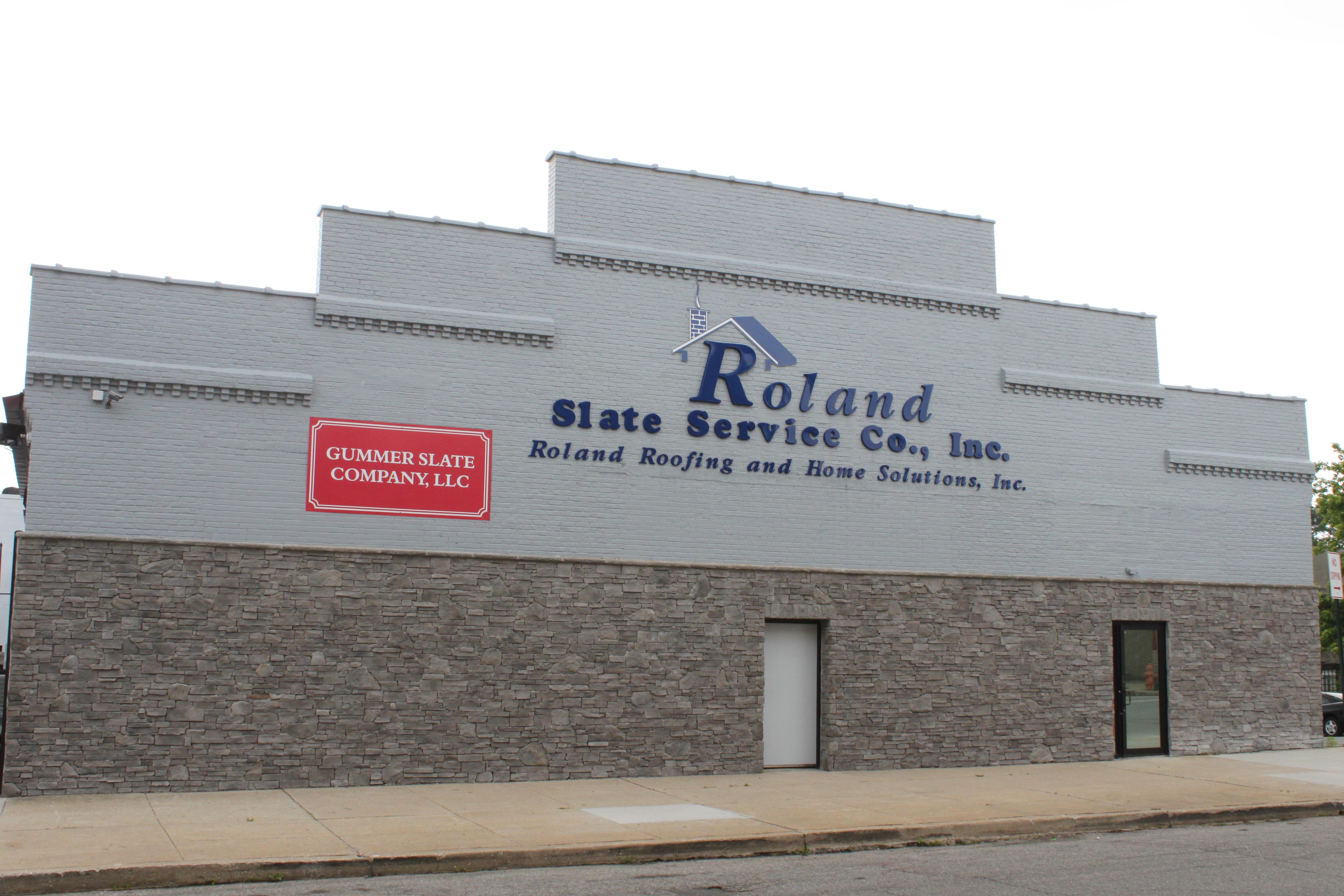 Roland Slate Building Front